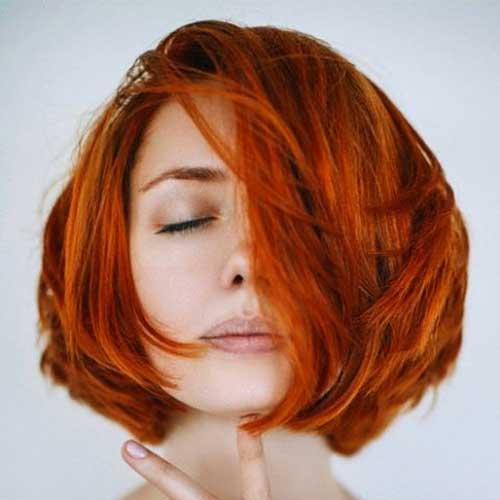 Short Asymmetrical Haircut - 30