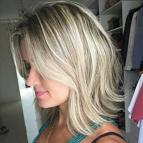 Short Blonde Haircut - 30