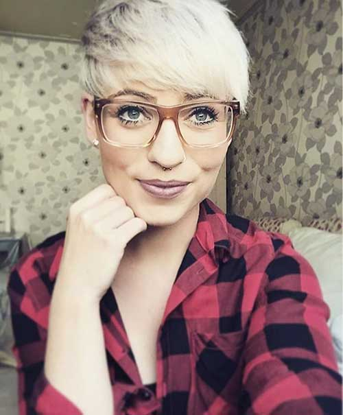 Short Blonde Haircuts - 31