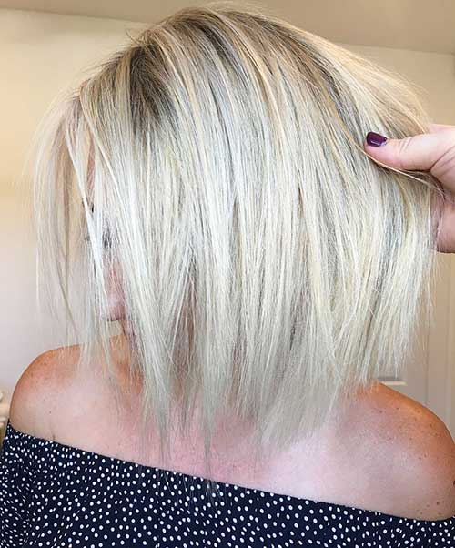 Short Straight Hairstyles - 31