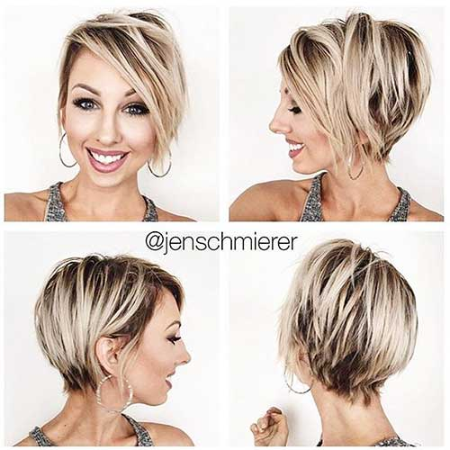 Short Blonde Haircuts 2017 - 32