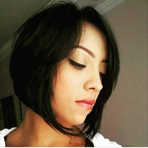 Short Asymmetrical Haircut - 34