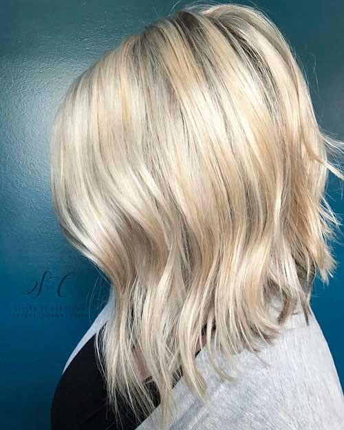 Short Blonde Hair - 35