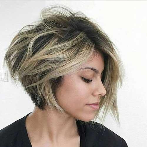 Short Messy Hair - 35