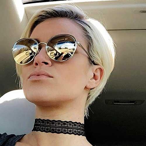 Short Blonde Hair 2017 - 36
