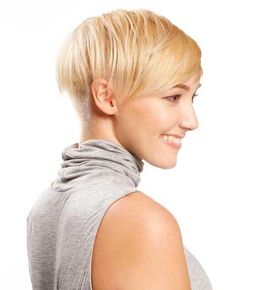 New Short Blonde Hair - 37