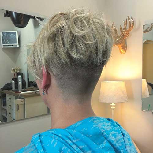 Short Blonde Hairstyle - 38