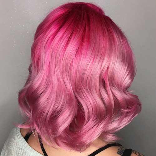 Short Hair 2016 Pink