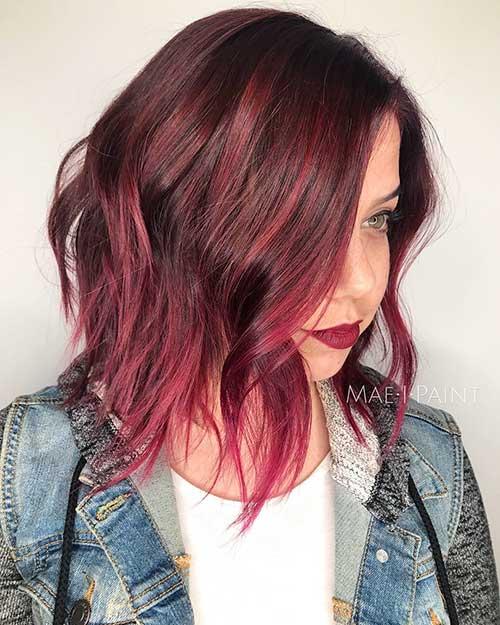 Short Hair 2016 Red