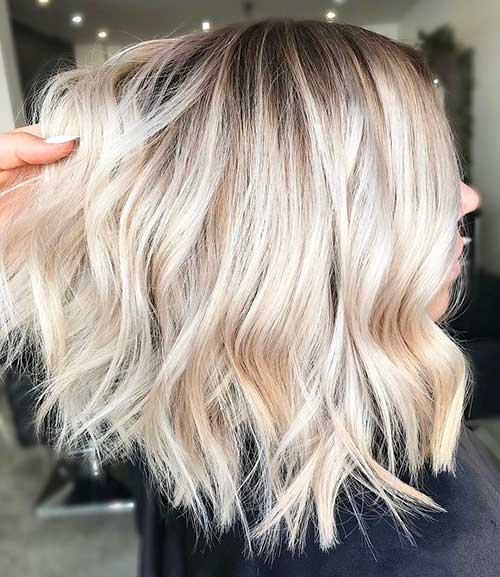 Short Hairstyles 2016 Blonde