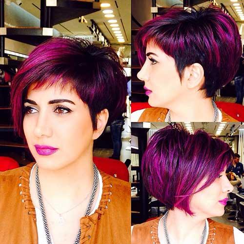 Short Hairstyless Bangs
