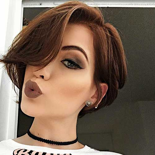 Sexy hairstyles for short hair Nude Photos 82