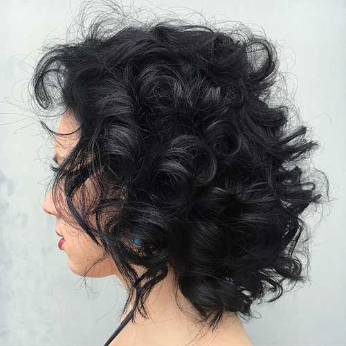 Cool Short Natural Curly Hairstyles - 6
