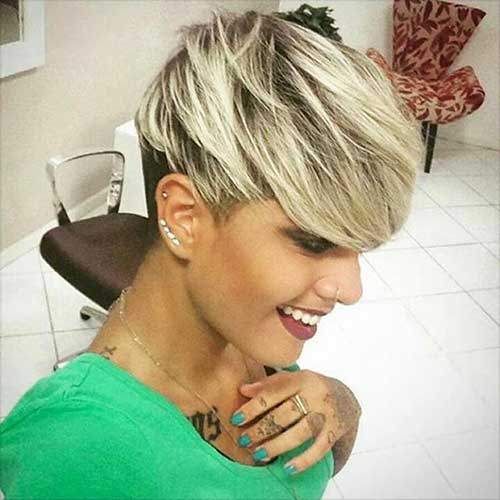 Short Blonde Hair - 6