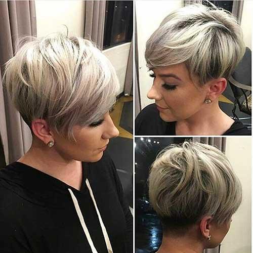 Short Hair with Bangs - 6