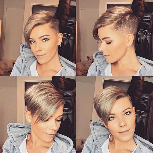 Short Hairstyles For Oval 6
