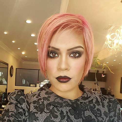 Short Pink Hair - 6