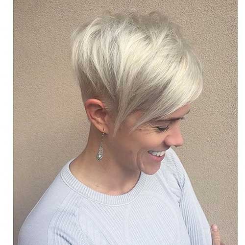 Super Short Layered Hairstyles - 6