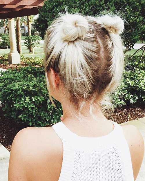 Updos for Short Hairstyles-6