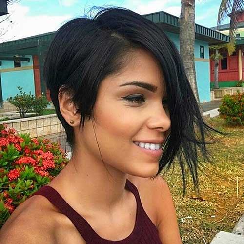Short Asymmetrical Haircuts - 7