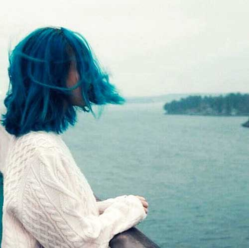 Short Blue Hair - 7