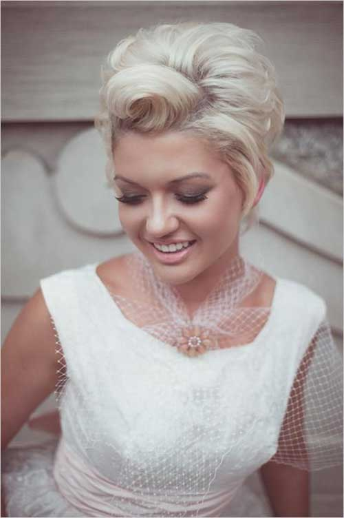 Short Hair for Wedding-7