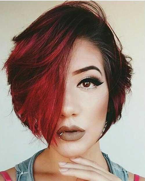 Short Asymmetrical Haircuts 2017 - 8