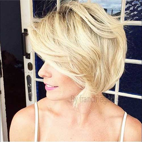 Short Blonde Hair - 8