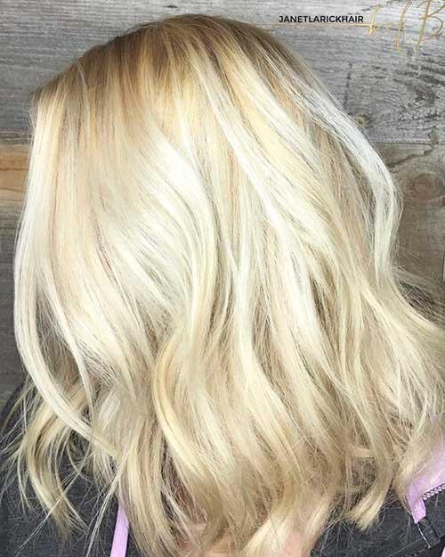 Short Blonde Hair 2017 - 8