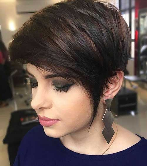 Short Hairstyles For Round Hairstyles - 8