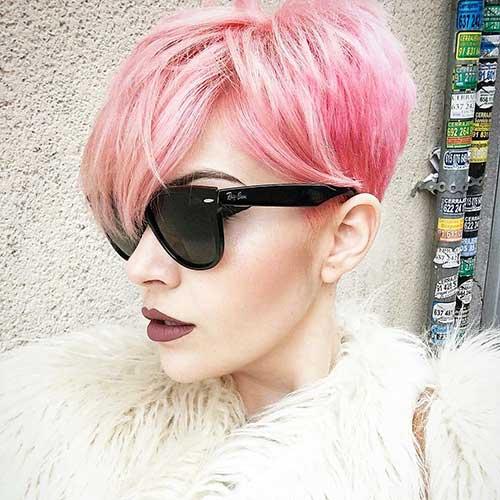 Short Pink Hair - 8