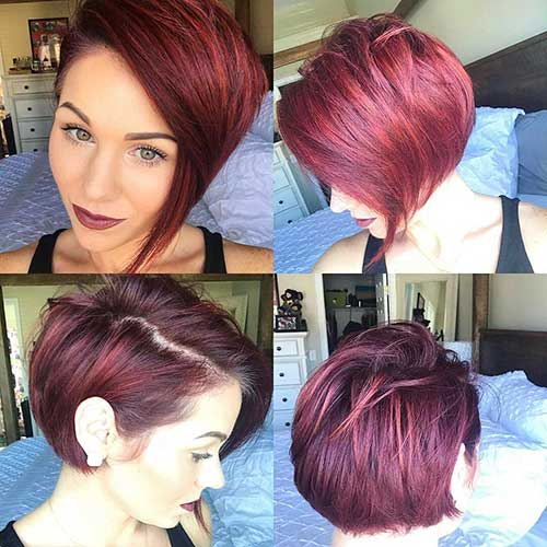 Short Red Hair - 8