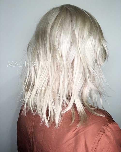 New Short Blonde Hair - 9