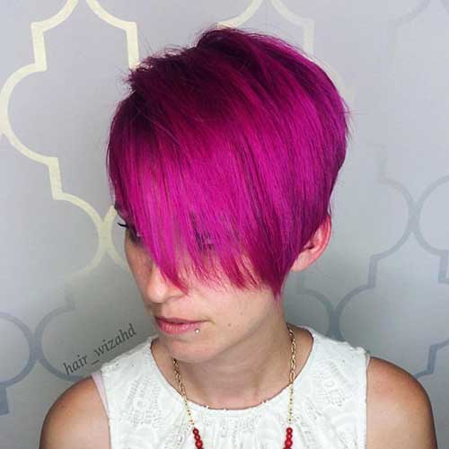 Nice Short Hairstyles for Girls - 9