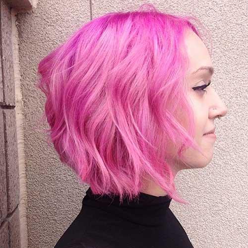 Pink Short Hair - 9