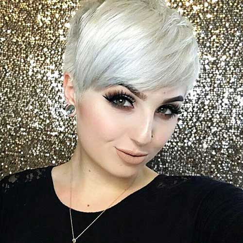 Short Hair with Bangs - 9