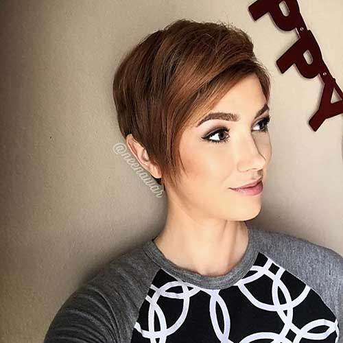 Short Hairstyles For Oval Hairstyles - 9