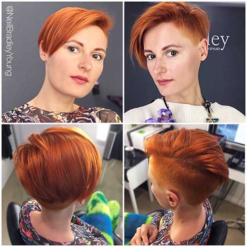 Short Red Hair - 9