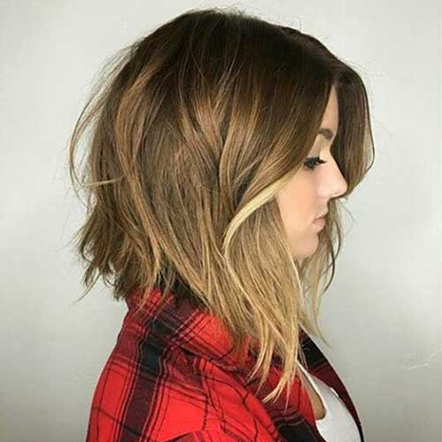 Super Short Layered Hairstyles - 9