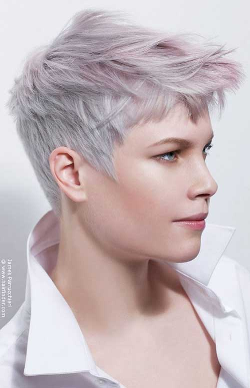 Super Short Hair Ideas On Pretty Ladies Short Hairstyles