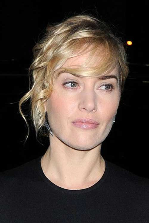 Celebrities with Short Hair-9