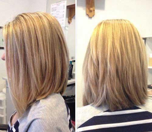 Hairstyles for Short Medium Hair-9