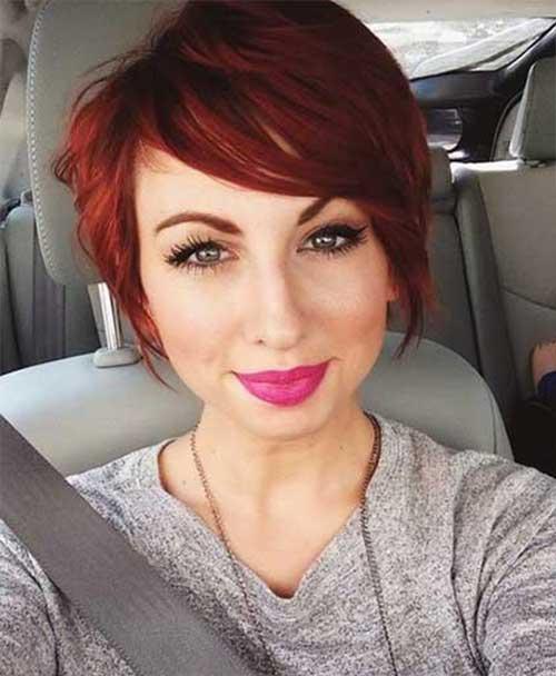20 Best Red Pixie Hair