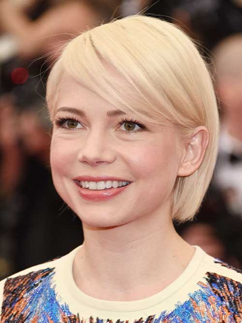 Blonde Celebrities With Short Hair