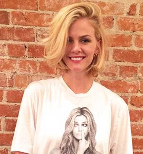 Blonde Short Hair Celebrities