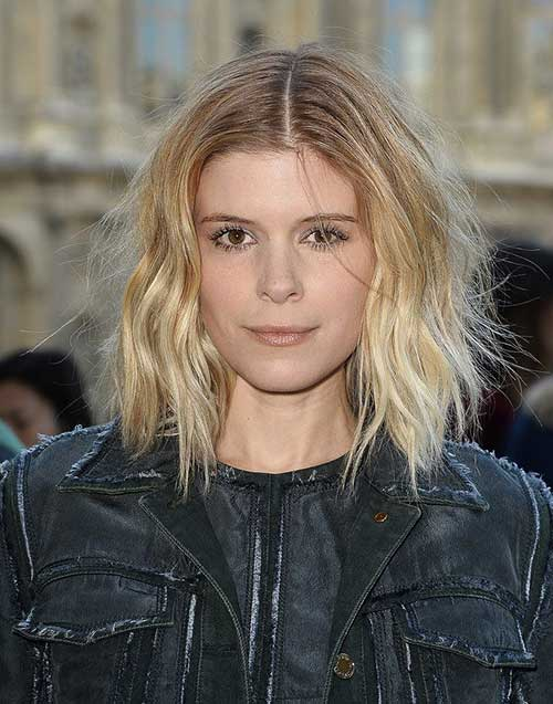 Celebrities Short Blonde Hair