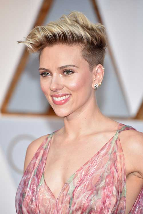 Celebrities Short Hair 2017