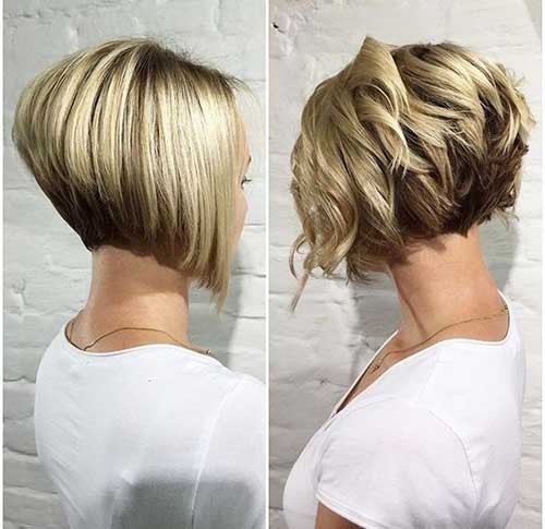 Short And Modern Hairstyles For Stylish Ladies Short