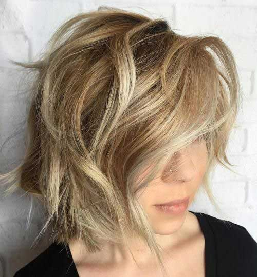 Unique Hair Colors On Short Haircuts Short Hairstyles
