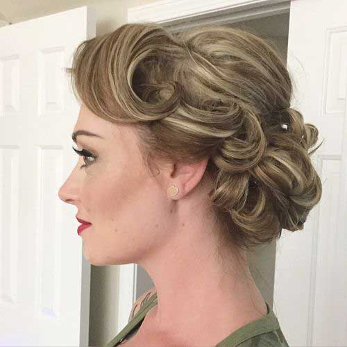 updo styles for short hair 15 special updos for hairstyles hairstyles 4527 | Short Hairstyles Updo